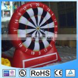 2016 Custom Giant target shoot sport games inflatable dart board for sale