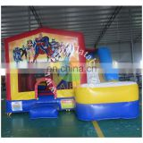 2016 happy baby inflatable castle/amusement park inflatable bouncer for children/super beautiful inflatable castle for kids