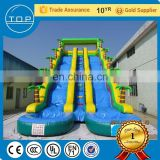 Customized inflatable water slides pond giant sale used swimming pool slide for kids and adults