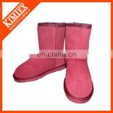 winter sheep skin boot