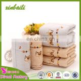 wholesale 100% cotton checked gauze face towels for babies