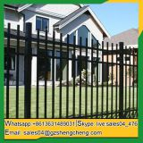 Factory reasonable price dog proof wrought iron fence