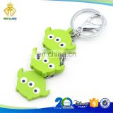 Promotional Toy Story Alien Hard PVC Keychain