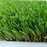 High Dtex of Yarn Artificial Turf with 4 Tones,U Shape Synthetic Grass