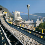 Pipe Conveyor Belts for Transporting Bulk Materials