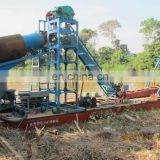 gold dredge/gold panning/mining dredger for sale