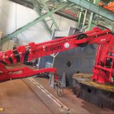 HAOYO Marine Crane Hydraulic Crane Small Boat/Marine/Ship Crane for Sale