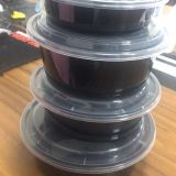 disposable plastic box  American type round container 750ml