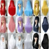 Cheap cosplay wig anime multi colors in stock