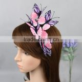 High - Quality Girls Fascinator Cloth Simulation Butterfly Headband Hairband                                                                         Quality Choice