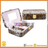 high quality leopard leather jewelry case travel,leather jewelry necklace travel case,custom jewelry travel display cases