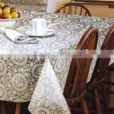 New Design PVC Waterproof Tablecloth on Sale From Chinese Manufacturer