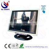 Wholesale Silver 12 Inch TV Function Touch Panel Screen Monitor For PC 12 TV Monitor