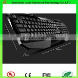 Hot Wired Colorful LED Backlight Mechanical Portable Gaming Keyboard