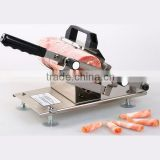 Latest new commercial home usage meat slicer manual Frozen meat slicing cutting machine thickness from 0.2-30mm