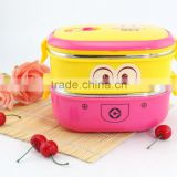 2 layers 2015 children lovely lunch box ,Minions bento box, insulationg mini lunch box (Accept OEM)