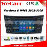 Wecaro WC-MB7501 android 5.1.1 gps navigation for benz G W463 2001-2008 radio dvd car multimedia system wifi 3g playstore