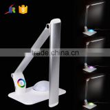 Eye-protection 3-grade brightness 9w led reading lamp