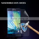 Factory price nano anti shock screen film guard for Samsung A3 anti shatter screen protector