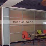 aluminum frame full glass cheap used office wall partitions