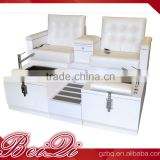 Wholesale portable cheap pearl spa pedicure chair,fiber glass foot rest pedicure tub basin