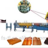 Part of auto whole production line for roofing tile making machines