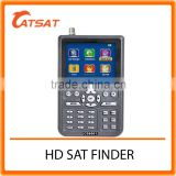 cheapest 3.5 Inch LED HD MPEG-4/H.264 Digital Satellite Finder Meter /Monitor