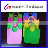 silicone handbag/fashion silicone shopping bag