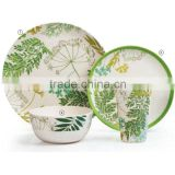 4pcs bamboo fiber dinner set dinnerware/tableware                                                                         Quality Choice