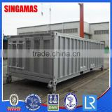 2015 Cheap 20' Half Height Side Door Shipping Container Without Top