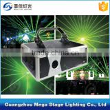 beautiful stage light 1w/2w green animation disco laser light