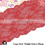 nylon lace, knitting lace,spandex lace