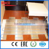 xlpe insulation material under floor heating radiant single core electric wire cable heating underfloor