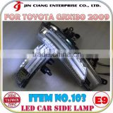 New trend product HIGH POWER Guide LED SIDE Lamp For Toyota IQ KGJ10