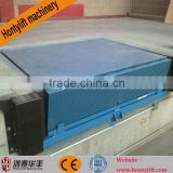 1 Ton loading hydraulic cylinder dock leveler/hydraulic container loading dock ramp lift