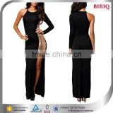 one sleeve prom dresses black and gold sequin dress evening gown models new fashion real sample pictures dresses