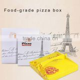 Disposable take out delivery box motorcycle pizza box