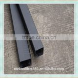 Hot selling carbon fiber square tube, hollow recetangular tube