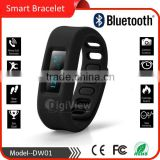bluetooth bracelet smart wrist hand clock alarm phone call reminder sleep monitoring fitness smart bracelet distance tracker