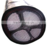 0.6/1kv rated voltage AL/CU conductor multicore 4 cores mm XLPE insulated PVC power electric cable