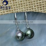 tahitian baroque pearl earrings for women 2016 wholesale price