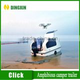 High quality fiberglass boat trailer with kitchen and bed                                                                         Quality Choice