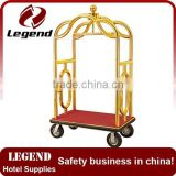 Used hotel luggage cart,concierge cart