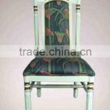 Stackable french style wooden dining chair louis high quality banquet chair restaurant used dining chairs