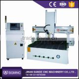 Sange 1530 4 axis cnc router , 4th axes rotary machine price , 3d sculpture wood cnc router for EPS foam cutting