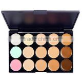 15 Colors 3in1 Professional Camouflage Natural Facial Concealer/Foundation/Bronzer Makeup Cosmetic Palette 15 Colors 3in1 Pro