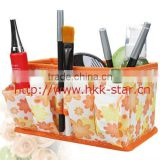 non-woven foldable table storage bag / folding cosmetics storage boxes