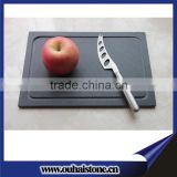 China factory wholesale natural slate stone cheese boards for restaurant