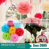 tissue paper pom poms flower bachelorette party supplies                                                                         Quality Choice
