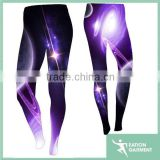 2016 newest design digital printed girls wearing yoga pants starry sky artwork custom yogo pants womens